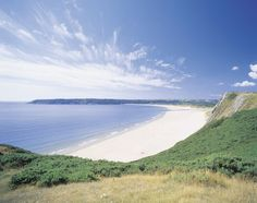 Oxwich Bay, Wales.  Beautiful place.  Proud to be a Thomas!