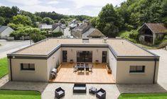 Découvrez les plans de cette une maison pour vivre au jardin sur www.construiresamaison.com >>>