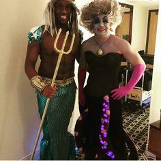 King Triton and Ursula costume                              …