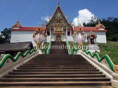 Das Wat Khao Laem vom ehrwürdigen Luang Phu Kalong, Amphoe Wang Sombun, Tambon Wang Sombun, Provinz Srakaew, Thailand.