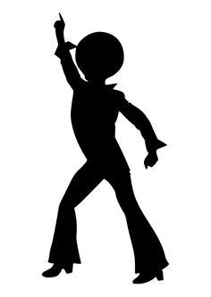 Coloriage danseur de disco Country Birthday Party, Disco Birthday Party, 70s Party, Disco Party, Toy Story Party, Toy Story Birthday, Deco Disco, Mode Disco, Disco Cake
