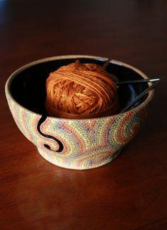 Yarn Bowl  LOVE.