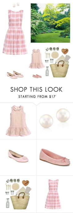 """Picnic with my mommy..."" by dezaval ❤ liked on Polyvore featuring Monnalisa, Pretty Ballerinas, ACME Party Box Company and Marc by Marc Jacobs"