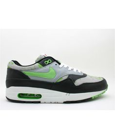 best sneakers a1b49 286d3 Air Max 1 Ltd Newspaper Black, Mean Green-Silver 307779-031 Air Max