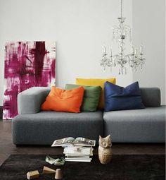 The Alphabet modular sofa by Piero Lissoni