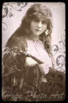 Vintage Gypsy 4x6 Postcard  backgrounds greeting by HopePhotoArt, $2.49