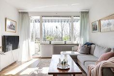 Qvantenborgsvägen 3B, Kobjer, Lund — Bjurfors Lund, Curtains, Home Decor, Blinds, Interior Design, Draping, Home Interior Design, Window Scarf, Home Decoration