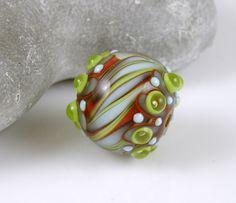 Cocobeads Fun Handmade Lampwork Focal Bead (1)
