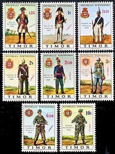 Timor Portuguêse Stamps