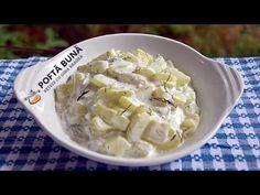 Salata de dovlecei cu iaurt sau maioneza, reteta ieftina si rapida, de vara salata meze ve kanepe Tarifleri videolu tarif – The Most Practical and Easy Recipes Coconut Flakes, Gin, Foodies, Spices, Soup, Cooking, Healthy, Ethnic Recipes, Youtube