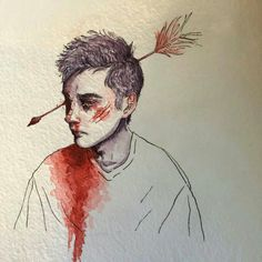 He actually got a frontal lobotomy lol but still Tyler Joseph, Twenty One Pilots Art, Fall Out Boy, My Chemical Romance, Cool Bands, Art Sketches, Art Inspo, The Dreamers, The Twenties