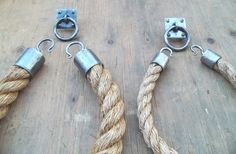 Manila Grass Rope and Wrought Iron Curtain by VarietyElements, $113.00