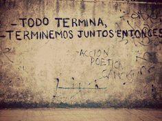 Accion poetica ❤️