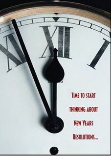 2014 is right around the corner - what are your New Years resolutions?