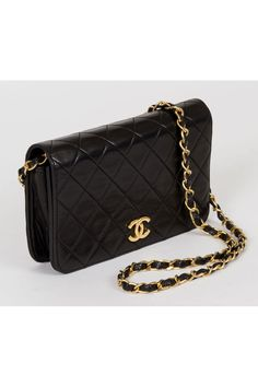 940d855d2c82 Chanel Vintage Two Way Black Shoulder Bag