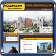 Organización:   Diosmara Asesoría Inmobiliaria;   Ubicación:   Maracay - Venezuela;   Enlace:   http://www.diosmarainmobiliaria.com;   Segmento:  Bienes Raíces;   Año:   2011