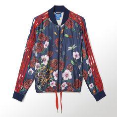 54b35c0066 adidas - Women s Rita Ora Roses Supergirl Track Jacket Adidas Official