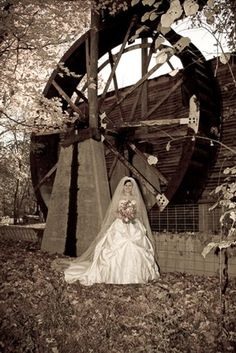 Old Spencer mill wedding