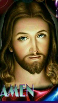 Pictures Of Jesus Christ, Bible Pictures, Jesus Our Savior, God Jesus, Mary Magdalene And Jesus, Gods Princess, Jesus Second Coming, Jesus Photo, Jesus Wallpaper