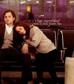 I love love love blair and chuck, however, dan and blair definitely have a cute relationship as well. :)