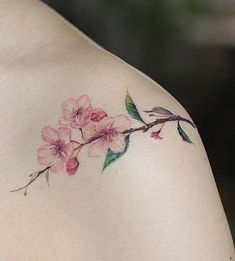 39 Mejores Imágenes De Tatuajes De Flor De Cerezo Lotus Tattoo