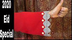Dress Designs For Girls, Sleeves Designs For Dresses, Stylish Dresses For Girls, Stylish Dress Designs, Kurti Sleeves Design, Kurta Neck Design, Chudi Neck Designs, Sleeve Designs, Baby Girl Frock Design