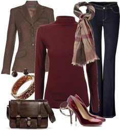 business casual for fall by meganpearl on Polyvore