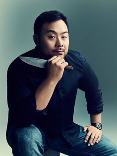 Chef David Chang runs Momofuku, which includes 13 restaurants, a bakery, two bars, and a culinary lab. David Chang Momofuku, Momofuku Recipes, Momofuku Milk Bar, Movies And Series, Secret Code, Portraits, World Recipes, Role Models, Photoshoot
