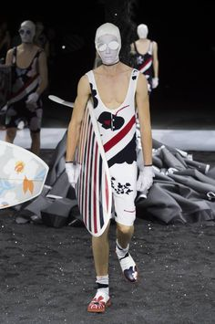 Thom Browne Spring-Summer 2017 - Paris Fashion Week #PFW