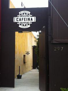 Cafeina Lounge - Wynwood, Miami