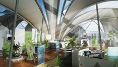 Abstergo Ceiling Design from Assassin's Creed IV: Black Flag