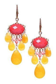 Kalliope Multicolor Chandelier Earrings