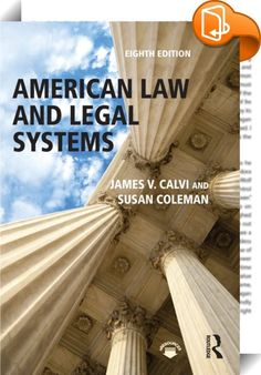 American Law and Legal Systems :: <P><EM>American Law and Legal Systems </EM>examines the philosophy of law within a political, social, and economic framework with great clarity and insight. Readers are introduced to operative legal concepts, everyday law practices, substantive procedures, and the intricacies of the American legal system. Eliminating confusing legalese, the authors skillfully explain the basics, from how a lawsuit is filed through the final appeal. This new edition...