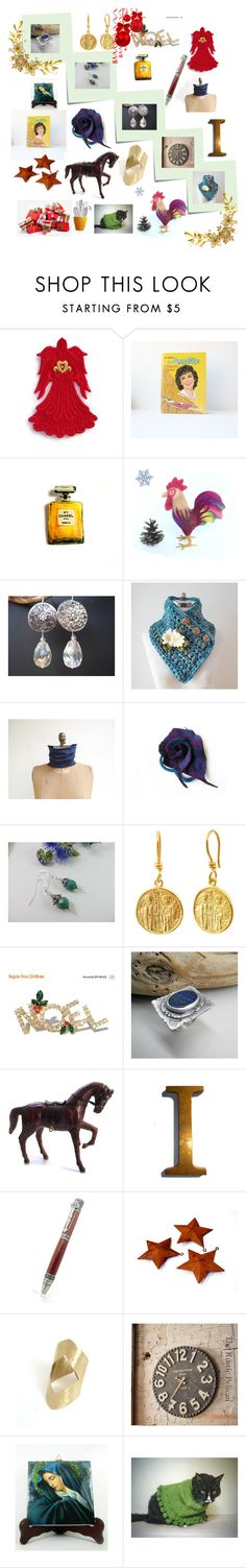 HAPPY HOLIDAYS by anna-recycle on Polyvore featuring Lazuli, Disney, Chanel and Post-It