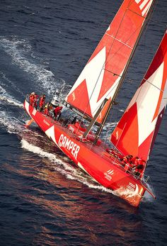 CAMPER WITH EMIRATES TEAM NEW ZEALAND IN THE VOLVO OCEAN RACE