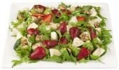 Strawberry, pear, mesculin and walnut salad    #NewZealand #vegetable #recipes