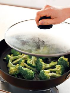 【新ワザ発見】「水大さじ3」で野菜はおいしくゆでられる!【オレンジページnet】プロに教わる簡単おいしい献立レシピ