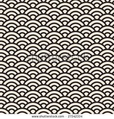 vector japanese pattern by RLN, via ShutterStock