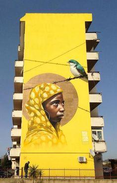 Graffiti Street Art - September 08 2018 at 3d Street Art, Murals Street Art, Best Street Art, Amazing Street Art, Street Art Graffiti, Mural Art, Street Artists, Wall Art, Art Public