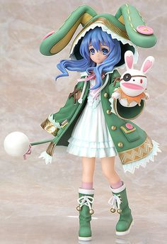 Yoshino from Date A Live (Mfr: Phat; 1/8 scale) | Release Date 2013/11 | From the anime released as a part of Fujimi Shobo's 40th anniversary, 'Date A Live' comes a 1/8th scale figure of the spirit with the appearance of a young girl - Yoshino! The figure is based on the cover illustration of the original light novel's second volume.