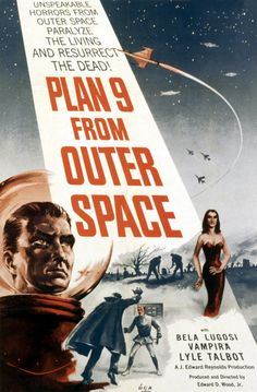 Ed Wood's Plan 9 from Outer Space (1959)