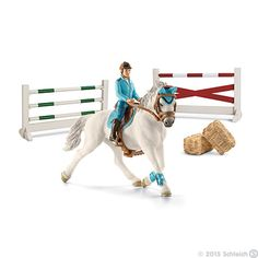 Schleich Jumping horse tournament set