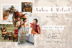 Fall is just around the corner and we are extremely excited and honoured to welcome back our talented friend and designer Katya Agasiyants, the owner and a creative director of Caprice Design & Decor.