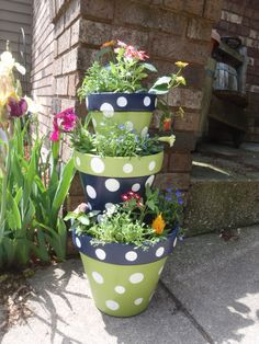 Tier Terra Cotta Pots | Clay Pot Crafts | Pinterest