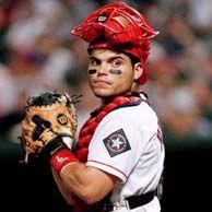 Pudge Rodriguez to retire a Ranger.