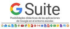 G Suitees un servicio deGoogleque proporciona un paquete de herramientas de ofimática que abre un ámplio abanico de posibilidades a los profesores, al personal administrativo y al alumnado.  Cuenta con una serie de aplicaciones web como Gmail,Calendar