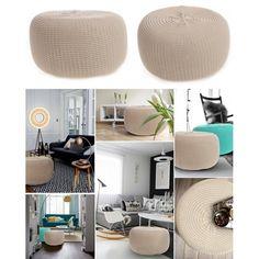 Nafukovacie taburetky béžovej farby Google Home, Ale, Ottoman, Chair, Furniture, Home Decor, Room Ideas, Decoration Home, Room Decor