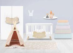 Muebles infantiles ecológicos, bonitos y divertidos de Lil'Gaea