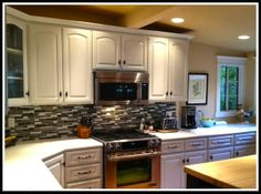 A Beautiful Before and After - Kitchen Mini Makeover