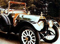Berliet 60 CV, voiture routière de 1912 La Berliet 60 CV, cet ancien véhicule fut fabriqué en 1912.